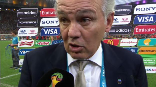 Video «WM 2014: Interview mit Alejandro Sabella» abspielen