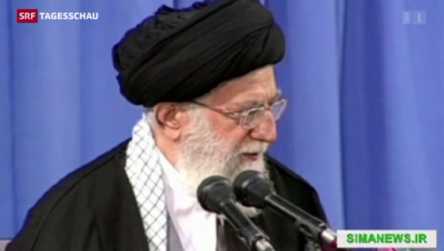 Video «Chamenei hält wenig von der Lausanner Vereinbarung» abspielen