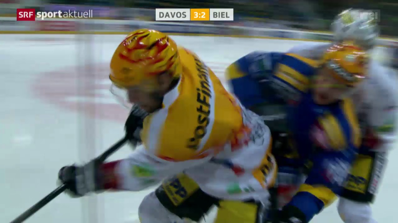 Eishockey: Davos - Biel