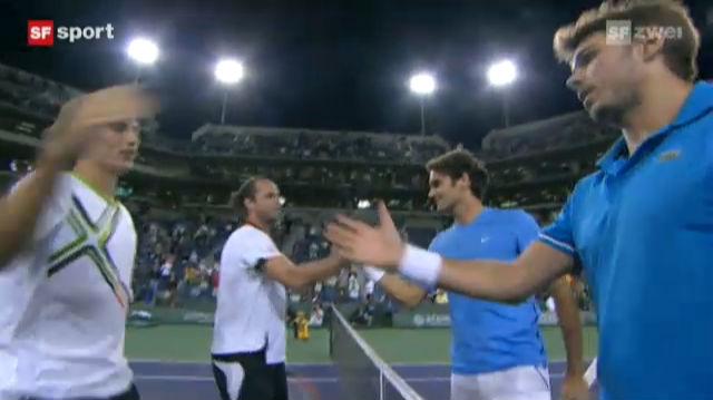 Federer/Wawrinka verlieren im Final