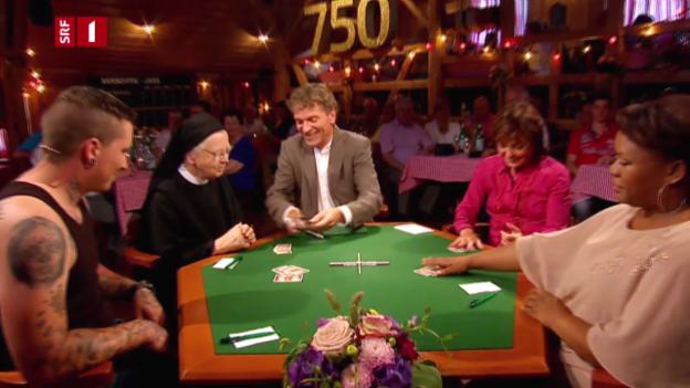 Video «750. Samschtig-Jass» abspielen