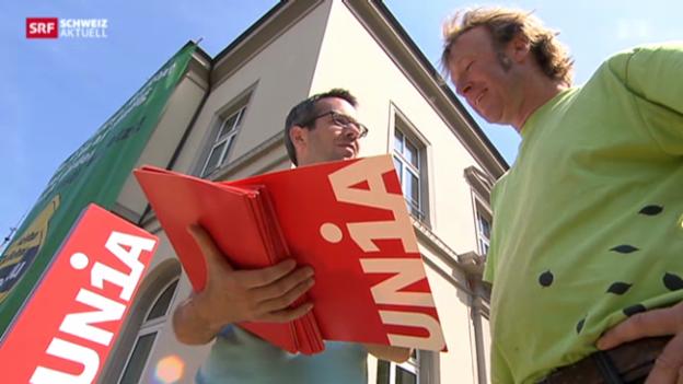 Video «Einigung im Streit um Schaffhauser Gartenbau-Löhne» abspielen