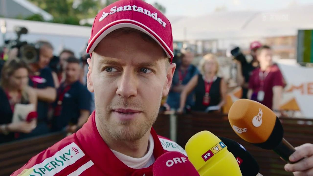 Vettel startet mit Sieg in die Saison