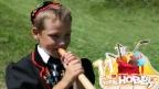 Video «Christian will mit seinem Alphorn berühmt werden» abspielen