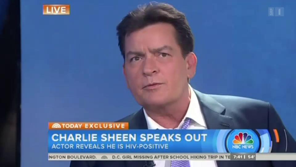 Charlie Sheen ist HIV-positiv