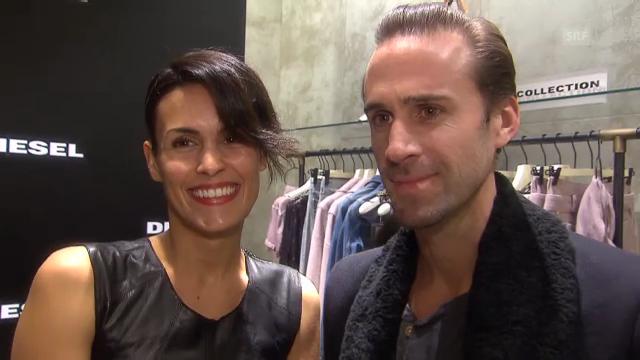 Maria Dolores Diéguez und Joseph Fiennes über die Familie und die Schweiz
