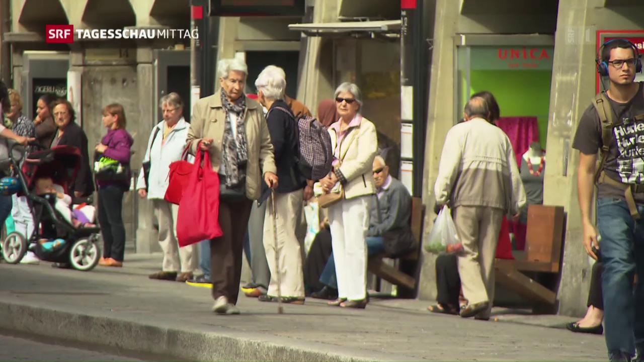 SGB will höhere AHV-Renten