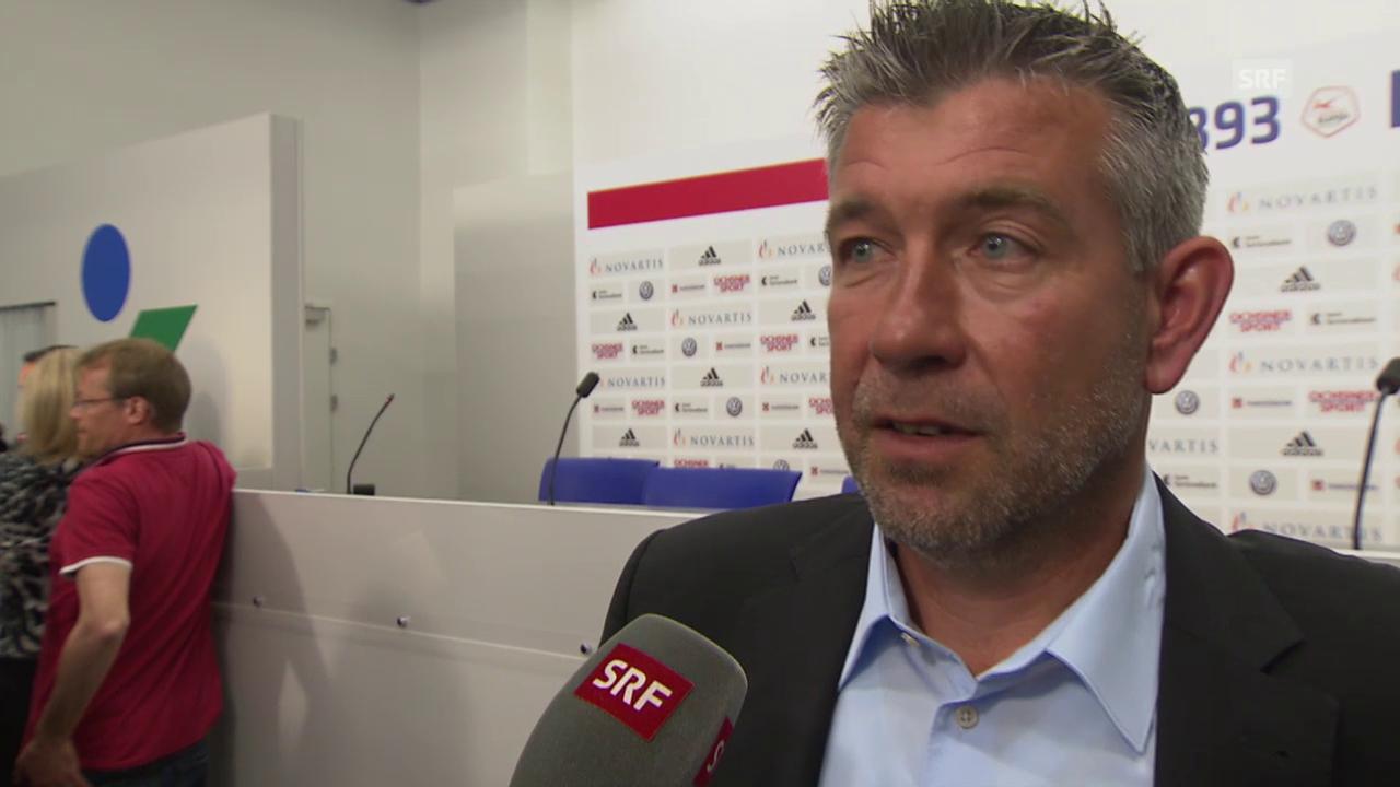 Fussball: Super League, Interview Urs Fischer