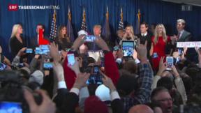 Video «Sanders und Trump triumphieren » abspielen