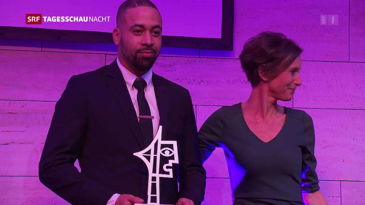 Der Prix Courage geht an Remo Schmid