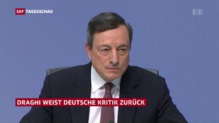 Video «Geld in der Eurozone bleibt billig» abspielen