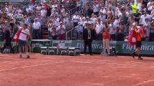 Link öffnet eine Lightbox. Video Bei seinem letzten French-Open-Auftritt: Mathieu wird vom Publikum gefeiert abspielen