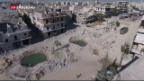 Video «Syrische Armee startet Grossoffensive in Aleppo» abspielen