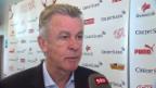 Video «Hitzfeld zum nächsten Gegner Island» abspielen