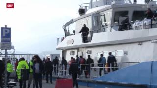 Video «Kritik an Griechenlands Grenzsicherung» abspielen