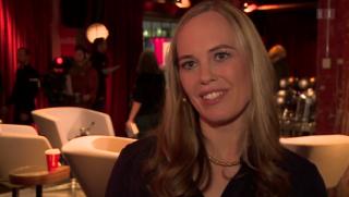 Video «Bücherwurm: Besuch bei «Literaturclub»-Moderatorin Nicola Steiner» abspielen