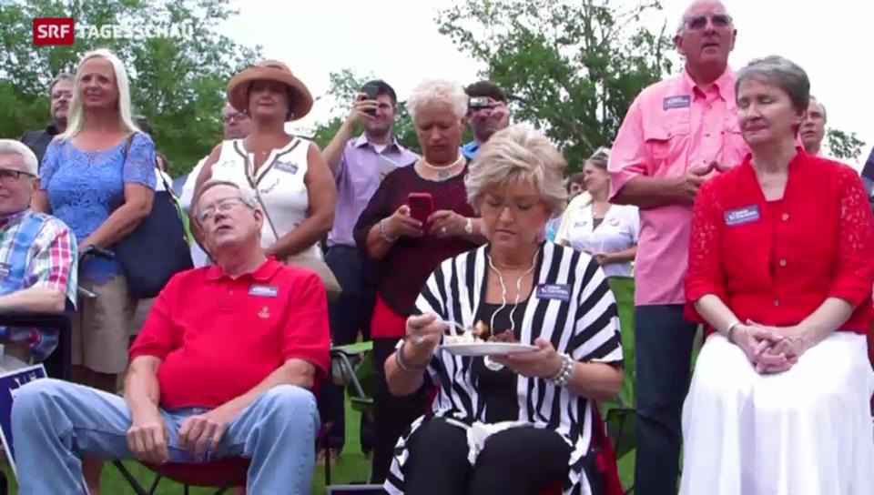 Wahlkampf in Mississippi
