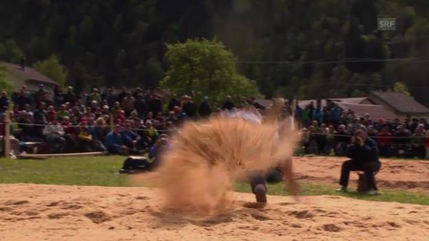 Video «Schwingen: Schlussgang Götte-Burkhalter» abspielen