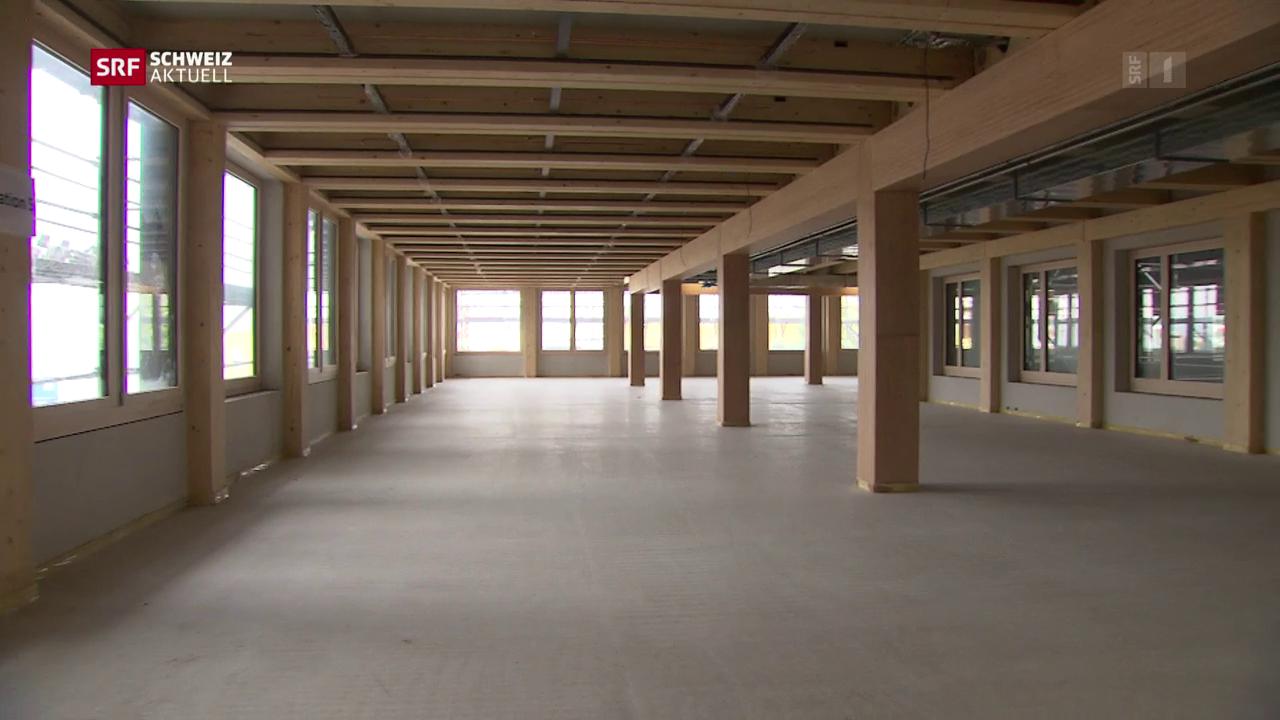 Das erste Schweizer Holzhochhaus