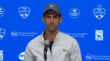 Link öffnet eine Lightbox. Video Djokovic: «grösstmögliche Challenge gegen Federer» abspielen