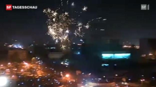 Video «Jubel in Kairo» abspielen