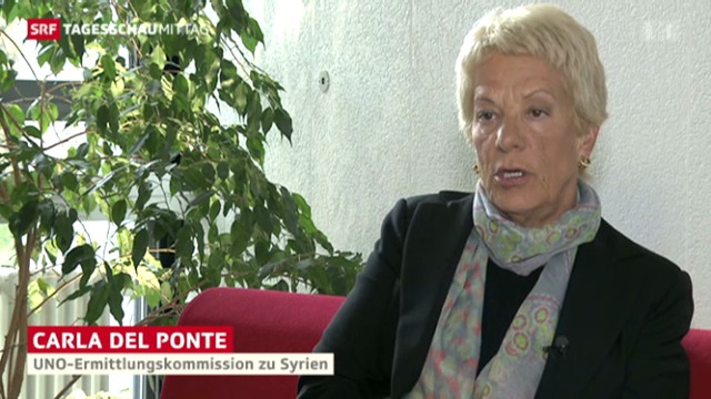 Giftgas-Einsatz: Carla del Ponte beschuldigt Rebellen