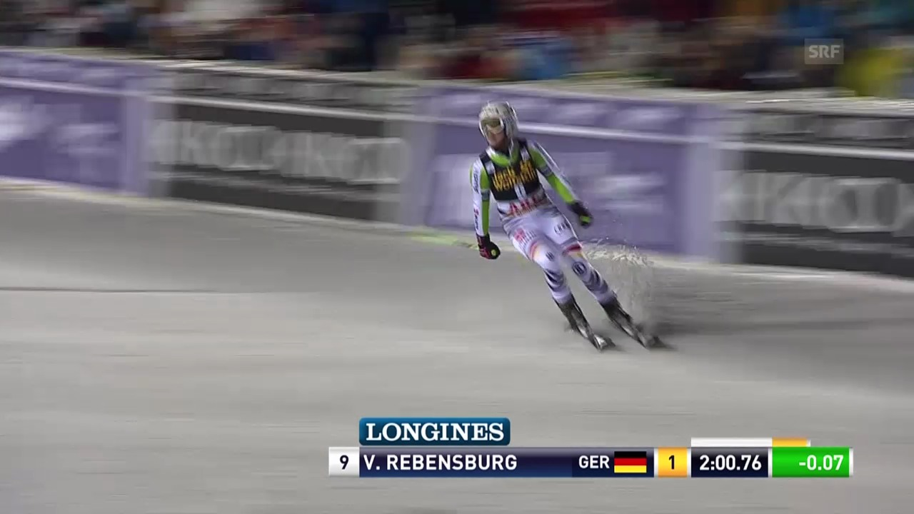 Ski Alpin: Riesenslalom Frauen in Are, 2. Lauf Viktoria Rebensburg («sportlive», 7.3.2014