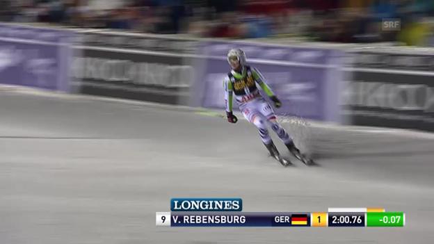 Video «Ski Alpin: Riesenslalom Frauen in Are, 2. Lauf Viktoria Rebensburg («sportlive», 7.3.2014» abspielen