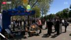 Video «Zürcher Taxifahrer streiken für 24 Stunden» abspielen