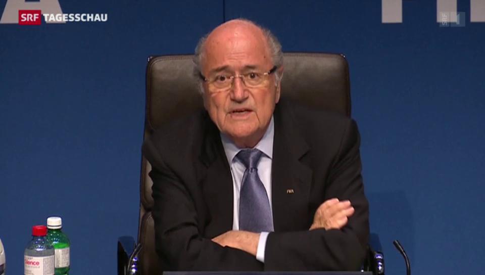 Blatter nimmt Stellung zur Winter-WM