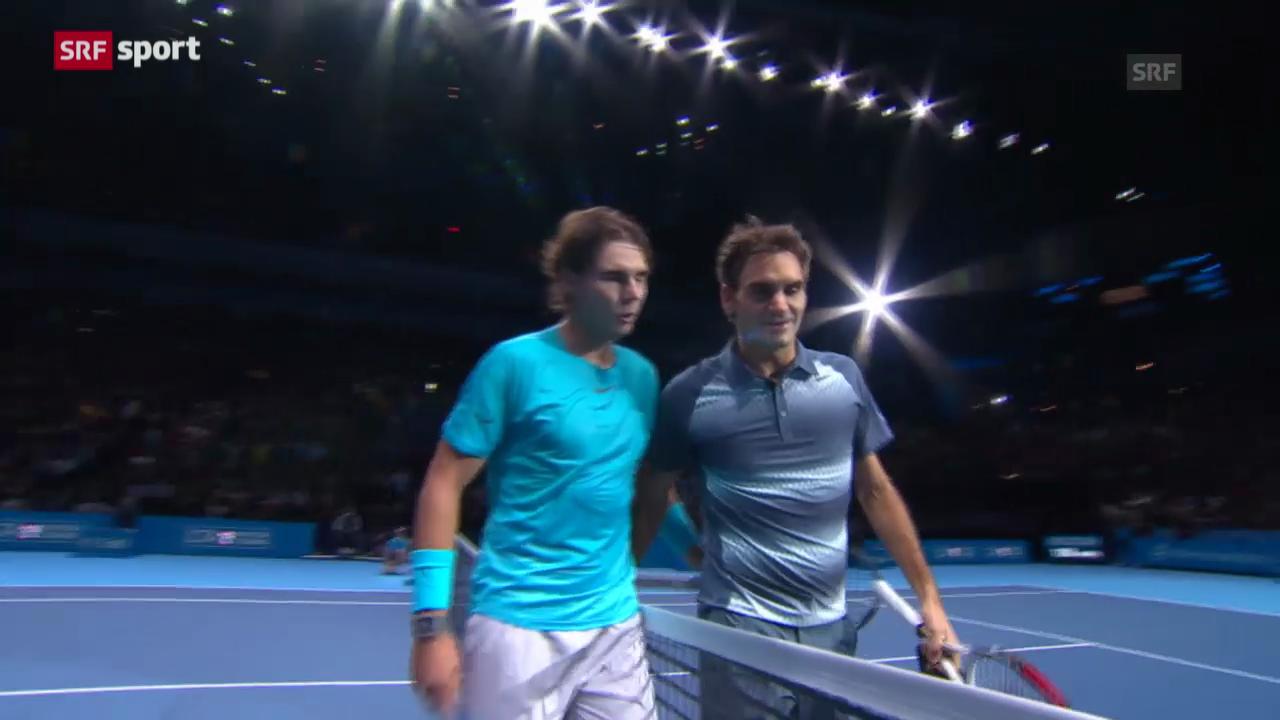 Matchbericht Federer-Nadal («sportpanorama»)