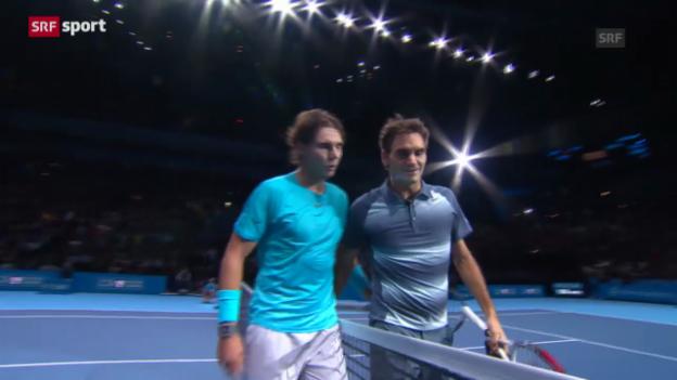 Video «Matchbericht Federer-Nadal («sportpanorama»)» abspielen