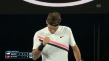 Link öffnet eine Lightbox. Video Federer hat gegen Bedene alles im Griff abspielen
