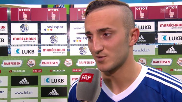 Video «Fussball: Super League, Interview Samed Yesil» abspielen