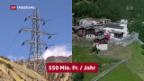 Video «Tiefere Wasserzinsen verärgern die Kantone» abspielen
