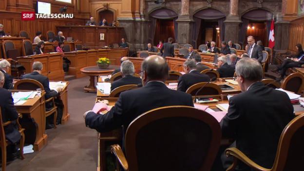 Video «Ständerat lehnt «No-Billag»-Initiative ab» abspielen