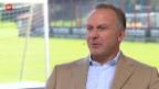 Video «Karl-Heinz Rummenigge, CEO FC Bayern» abspielen