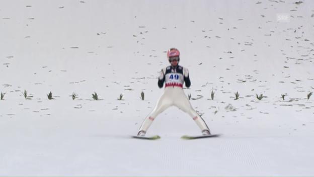 Video «Der 2. Sprung von Sieger Stefan Kraft» abspielen