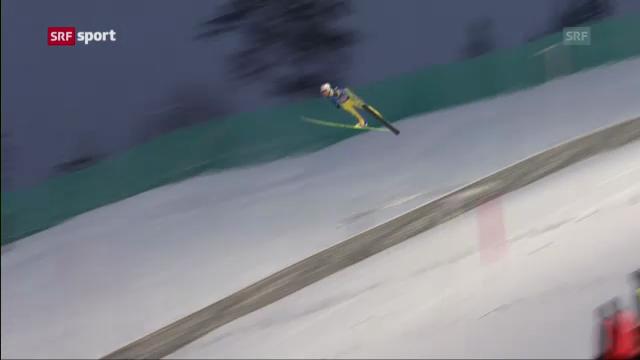 Skifliegen: Zweites Springen in Vikersund («sportaktuell»)
