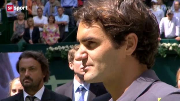 Video «ATP Halle: Final Federer - Haas» abspielen