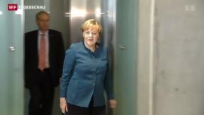 Video «Merkel sondiert mit der SPD» abspielen