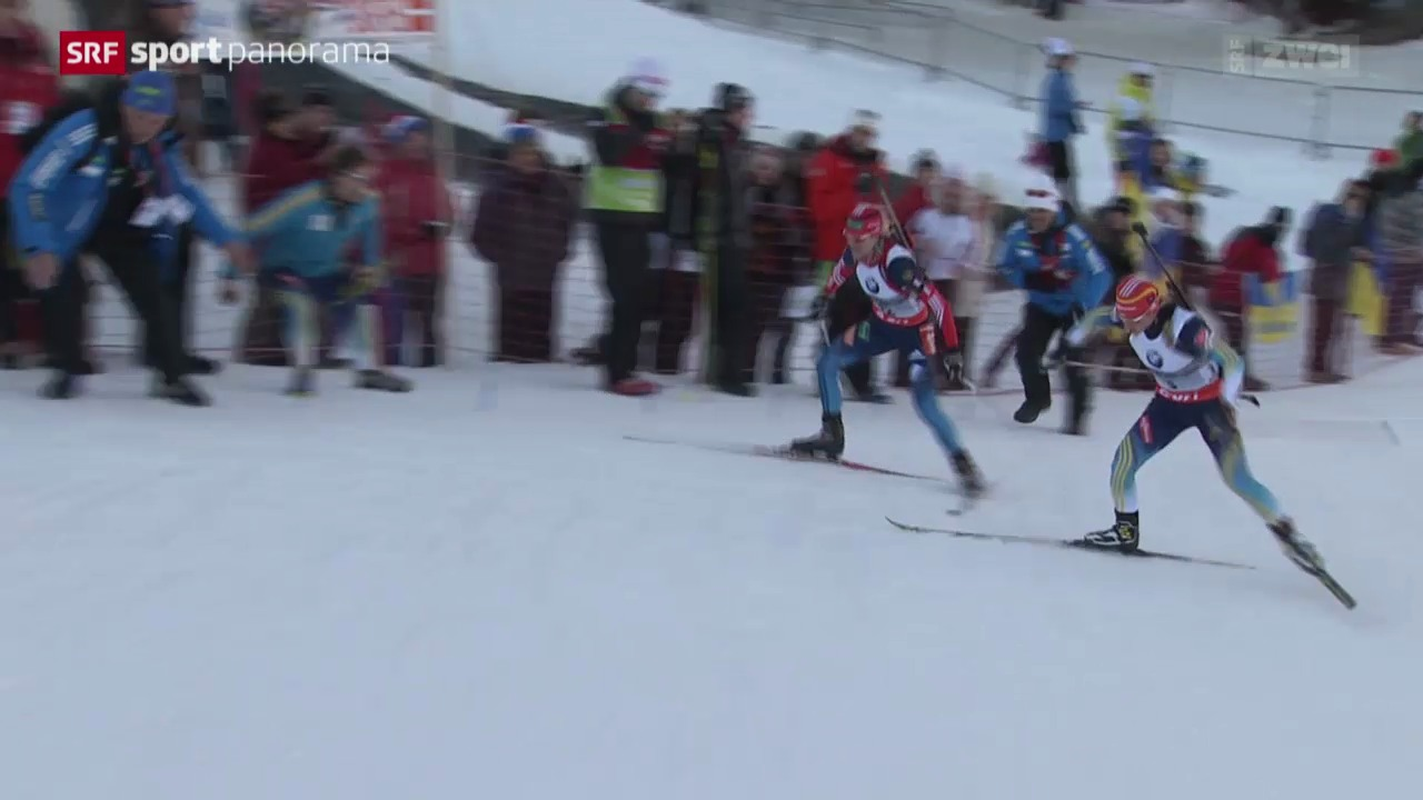 Biathlon: Weltcup in Le Grand Bornand