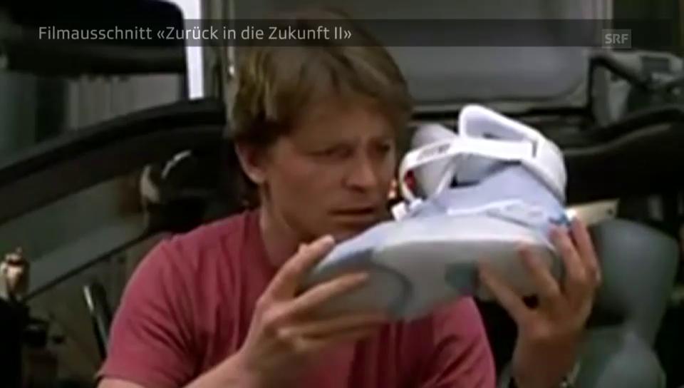 Die Schuhe in «Zurück in die Zukunft II»