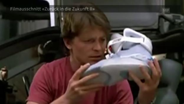 Video «Die Schuhe in «Zurück in die Zukunft II»» abspielen