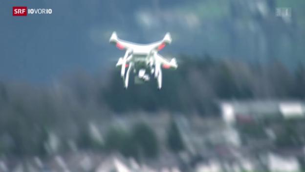 Video «Wenn das Bauamt mit der Drohne spioniert» abspielen
