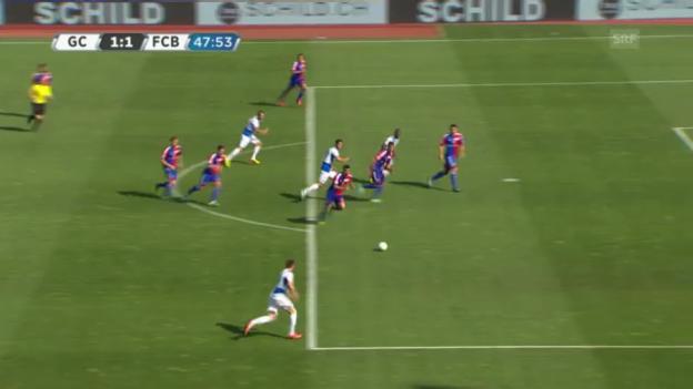 Video «Highlights GC - Basel («sportlive»)» abspielen