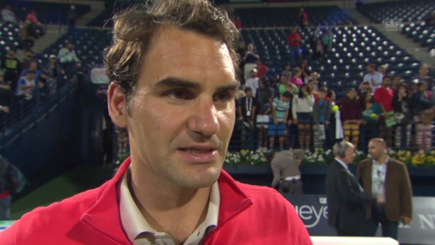 Video «Tennis: Interview mit Roger Federer» abspielen