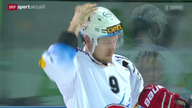 Video «Eishockey: Zug - Freiburg» abspielen