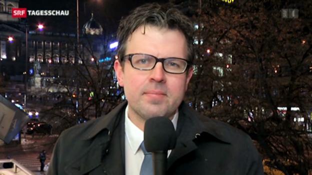 Video «Marc Lehmann zum neuen Staatsoberhaupt der Tschechen.» abspielen