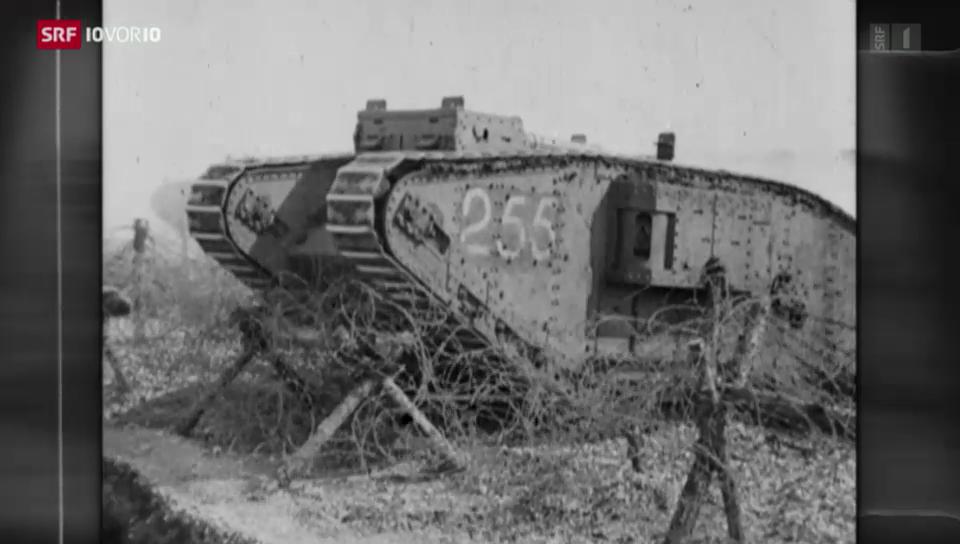 1. Weltkriegs-Serie: Duell der Maschinen